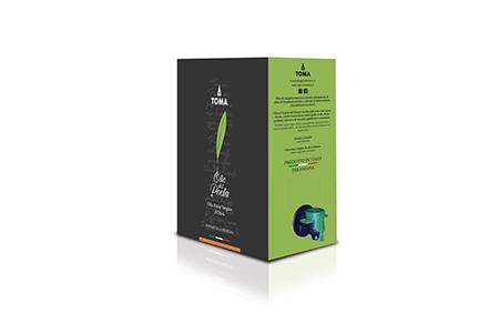 OLIO EXTRA VERGINE DI OLIVA MONOCULTIVAR PERANZANA   Bag in Box 5 L.
